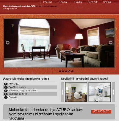Azuro – Molersko Fasaderski Radovi