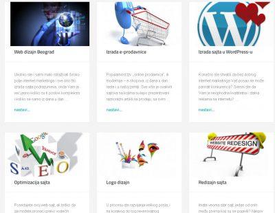 Web Dizajn :: Izrada sajta