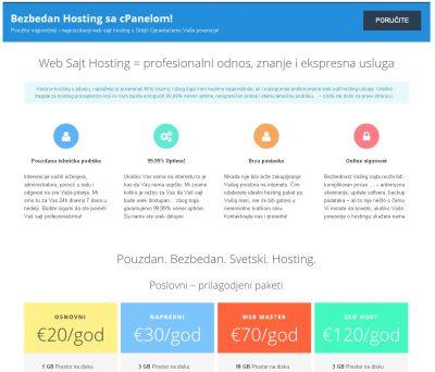 Web Sajt Hosting – WebSajtHosting.RS