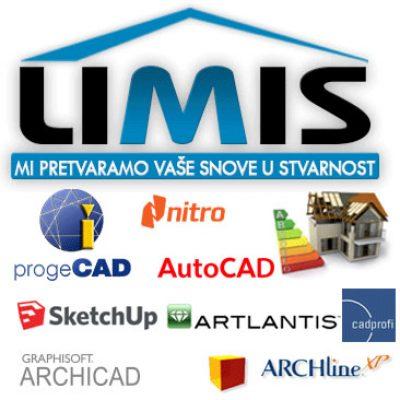 LIMIS doo – Projektni biro, CAD Programi