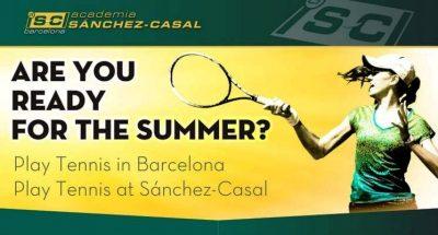 Teniska akademija Sančez-Kasal Barcelona