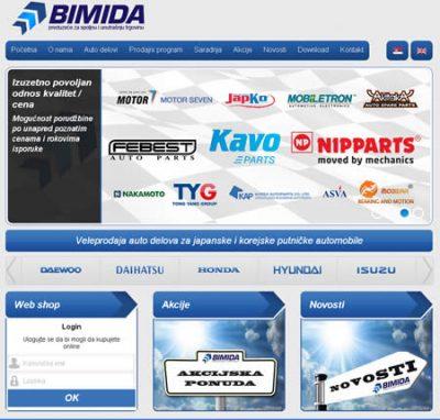 BIMIDA Doo – Rezervni Delovi