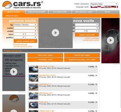 Cars.RS – Besplatni auto oglasi