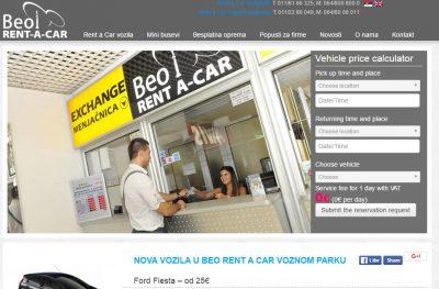 Beo Rent a Car Beograd