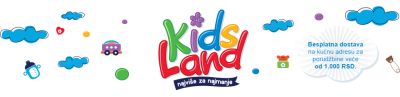Bebi oprema, kolica za bebe, igračke – KidsLand.rs