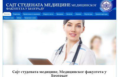 Sajt Studenata Medicine