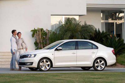 Skoda Rapid Rent a Car