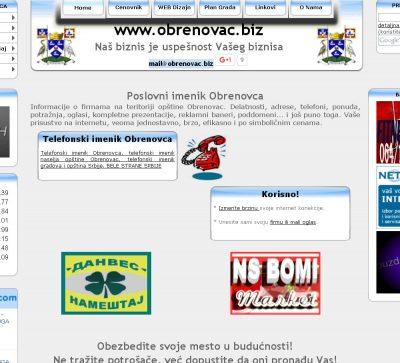 Poslovni imenik Obrenovca