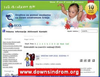 Društvo za pomoć osobama sa Down sindromom Srbije