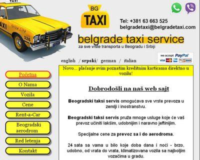 Beogradski Taksi Servis