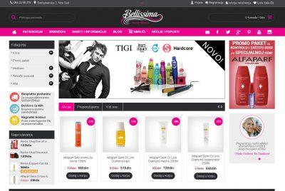 Prodaja kozmetike Belissima