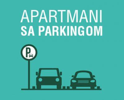 apartmani sa parkingom