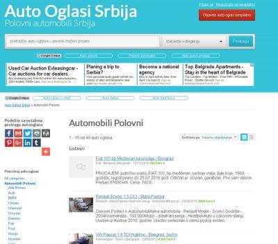 Auto Oglasi Srbija