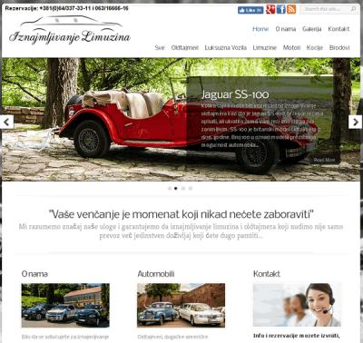 Iznajmljivanje Limuzina, Oldtajmera, Luksuznih Vozila
