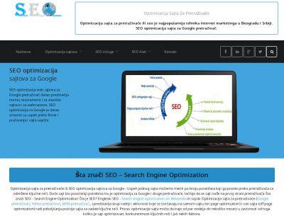 SEO Optimizacija Sajta Za Pretraživače